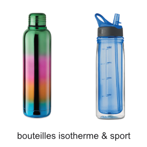 bouteilles isotherme sport